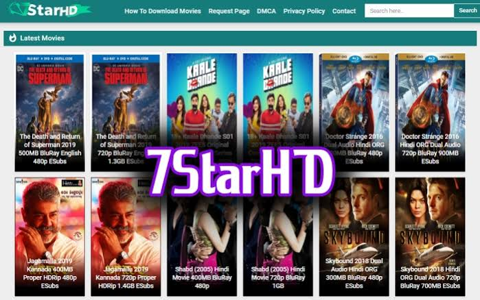 Is it safe to download movies from 7StarHD?